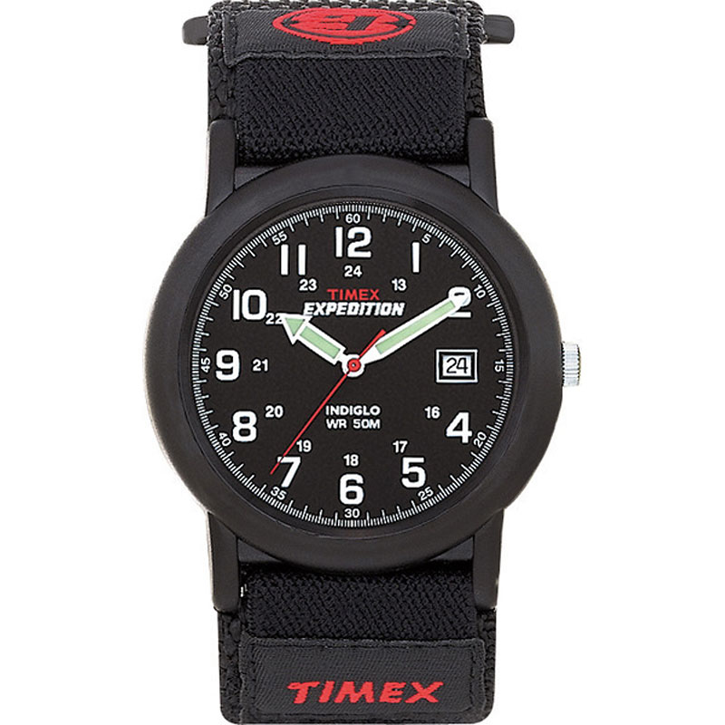 Timex Expedition Camper Watch - Black/Red - 40011