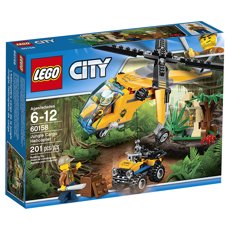 LEGO® City - Jungle Cargo Helicopter