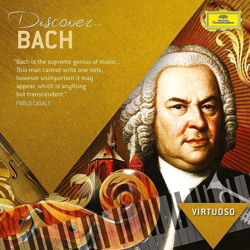 Various Artists - Virtuoso Series: Discover Bach - CD