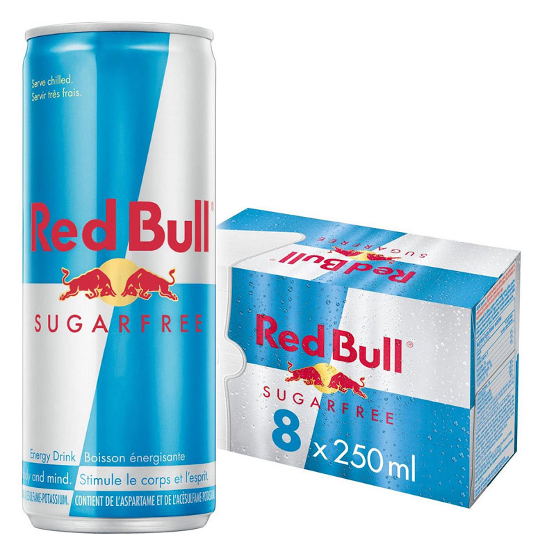 Red Bull - Sugar Free - 8x250ml