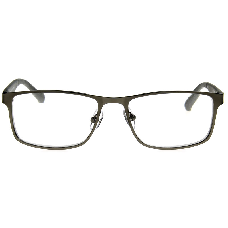Foster Grant IM 1000 Men's Reading Glasses - Gunmetal - 3.25