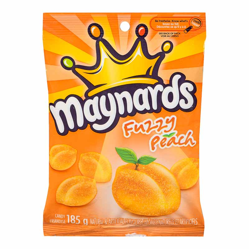 Maynards Fuzzy Peach Candy - 185g