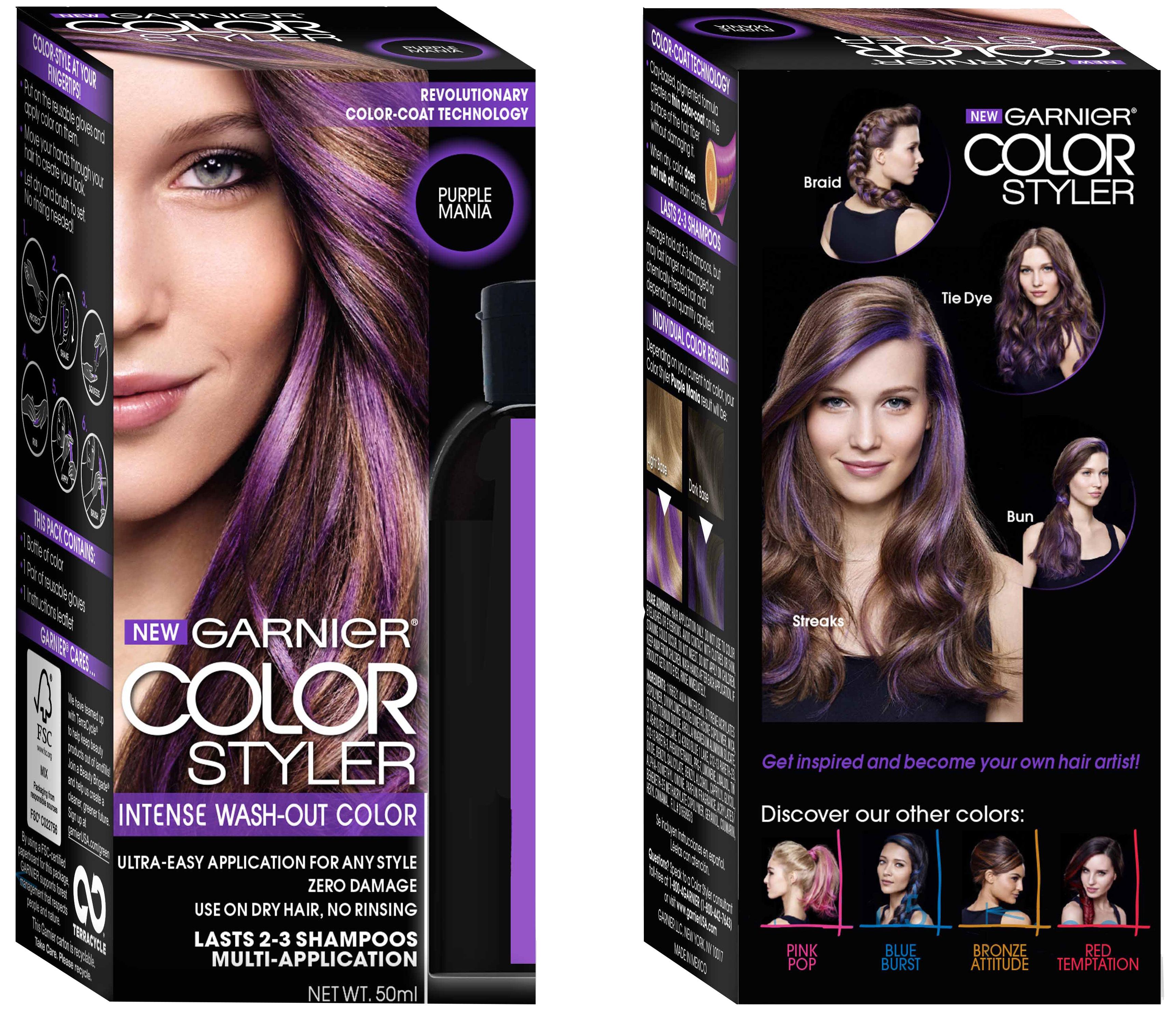 Garnier Color Styler Intense Wash-Out Color | London Drugs
