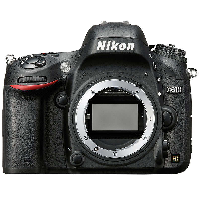 Nikon D610 FX Body Only - 33756 - Open Box Display Model