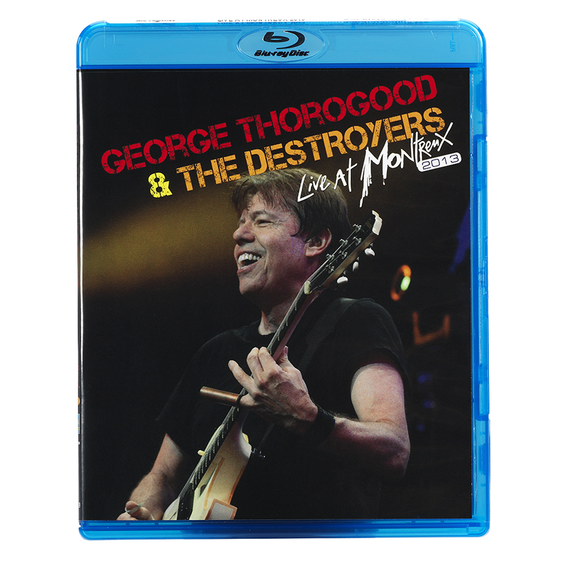 George Thorogood and The Destroyers - Live At Montreux 2013 - Blu-ray