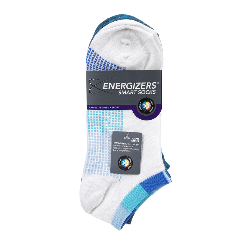 Energizers Ladies Fashion Sport Socks - Blue - Sizes 9-11