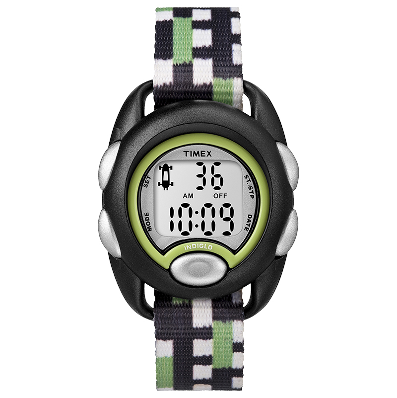 Timex Kids Digital Watch - Black/Green - TW7C130002Y