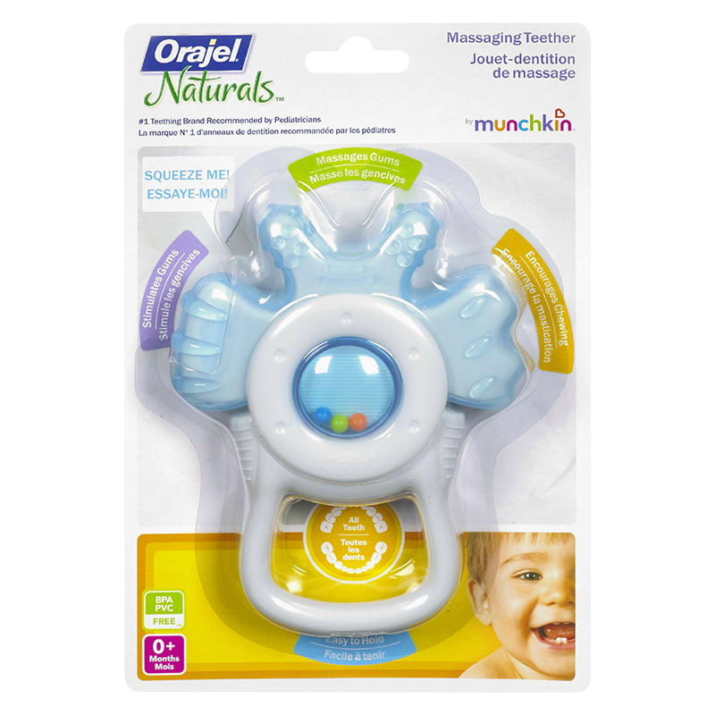 Munchkin Orajel Massaging Teether - Assorted