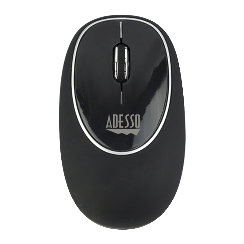 Adesso iMouse E60 2.4GHz RF Wireless Gel Mouse - Black - E60B
