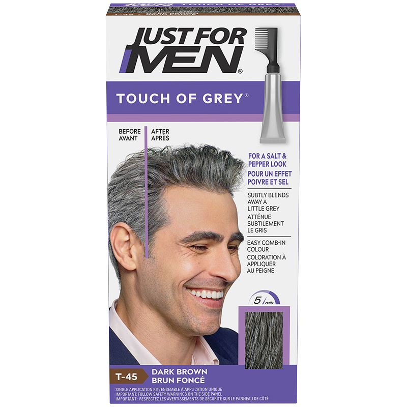 Just for Men Touch of Grey Hair Colouring - Dark Brown