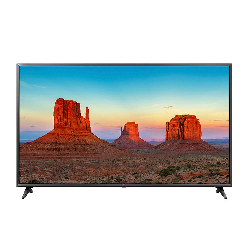 LG 55-in 4K UHD True Motion 120 Smart TV with webOS 4.0 - 55UK6300 - Open Box Display Model
