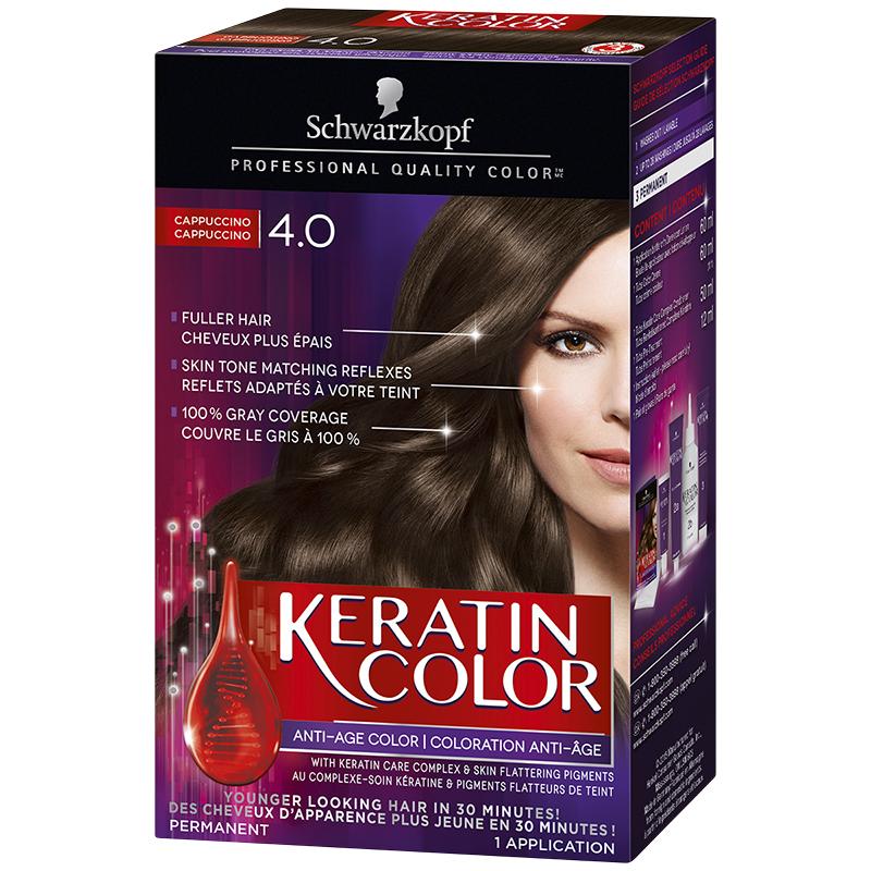 Schwarzkopf Keratin Color Anti Age Permanent Hair Colour 40
