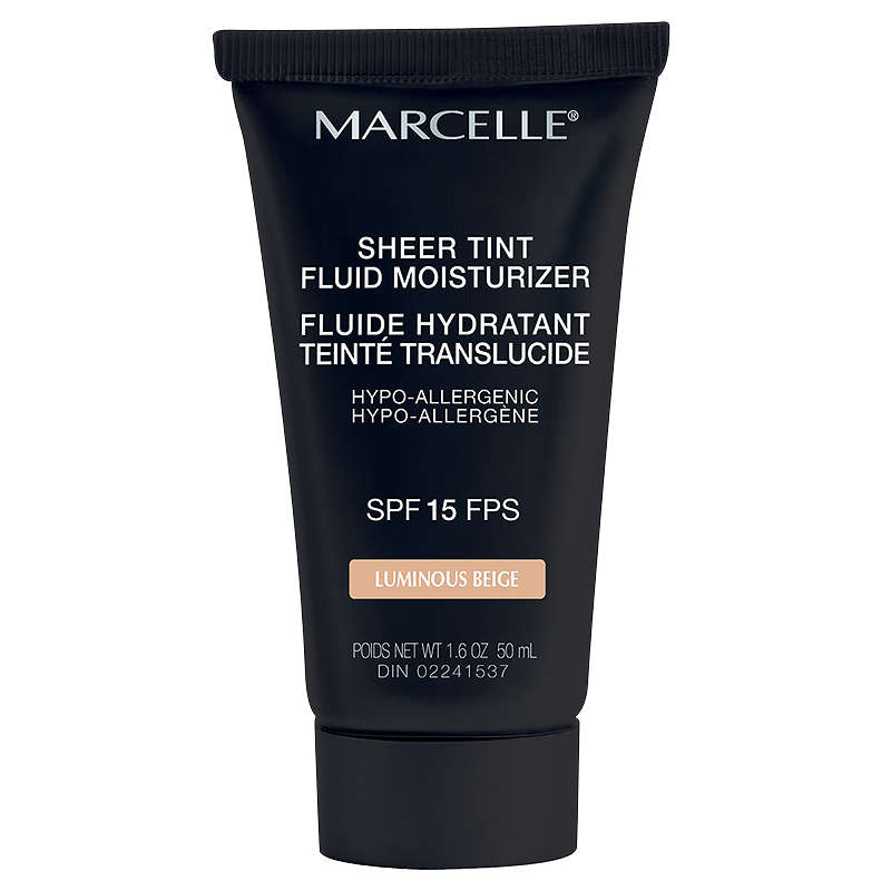 Marcelle Sheer Tint Fluid Moisturizer - SPF 15 - Luminous Beige