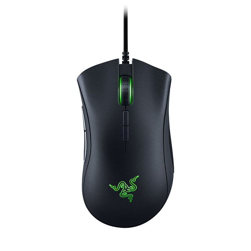 Razer Deathadder Elite Wired Gaming Mouse - Black