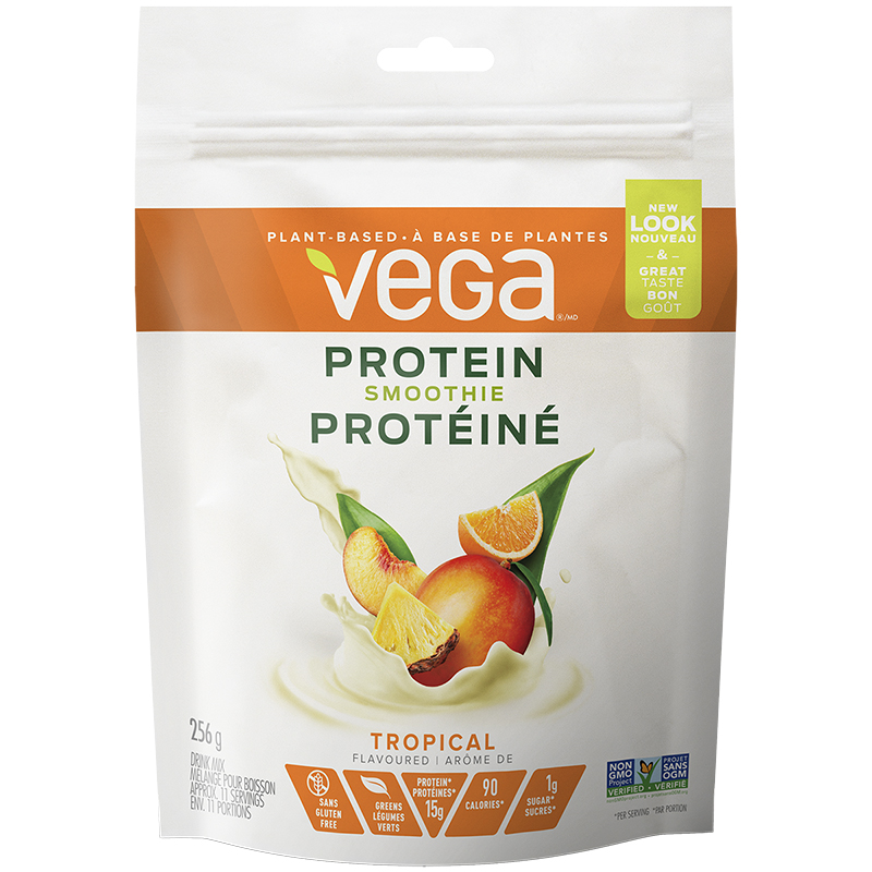 Vega Energizing Smoothie - Tropical Tango - 256g