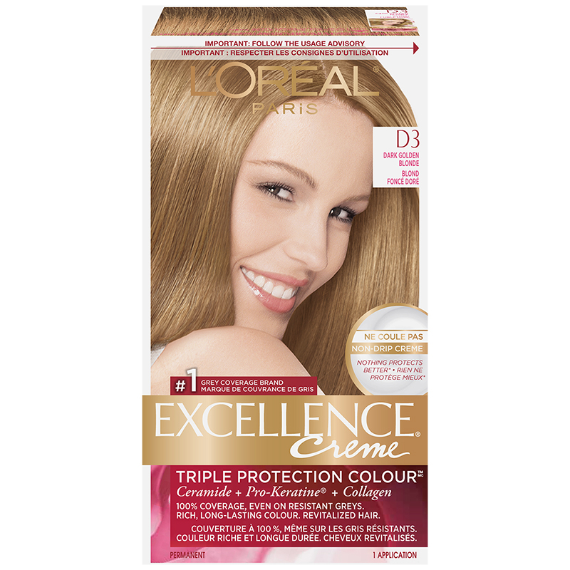L'Oreal Excellence Creme - D3 Dark Golden Blonde