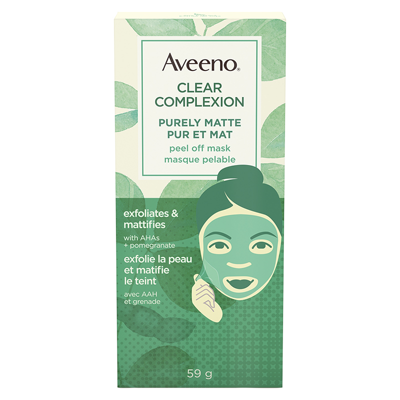 Aveeno Clear Complexion Purely Matte Peel Off Mask - 59g