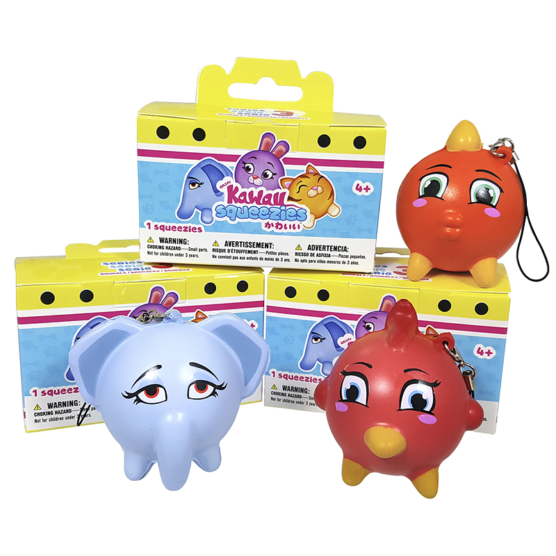 Kawaii Squeezies - Animals - Assorted