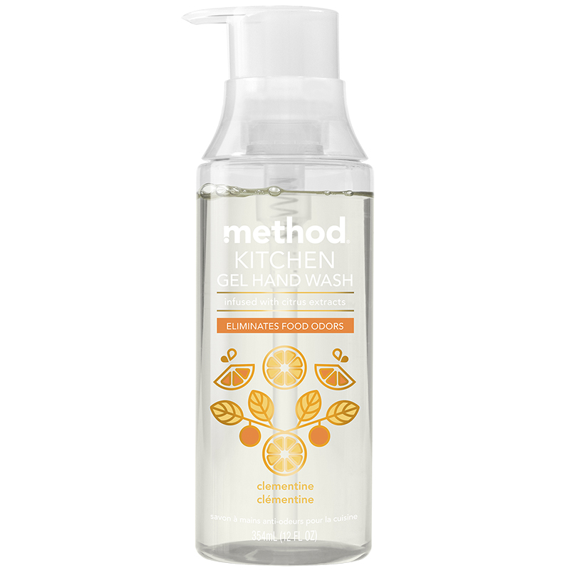 Method Kitchen Gel Hand Wash - Clementine - 354ml