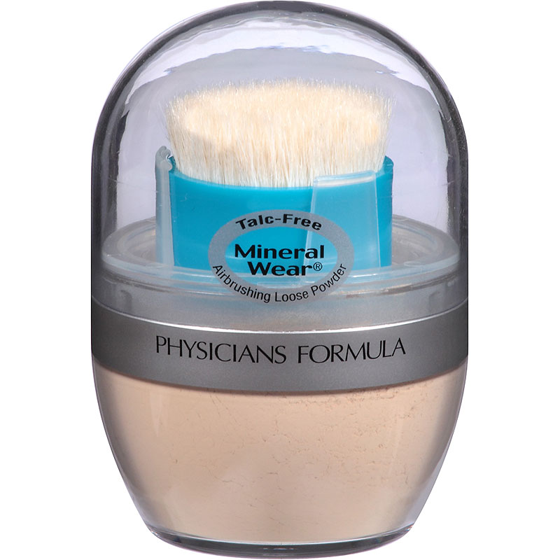 Physicians Formula Mineral Wear Talc-Free Mineral Airbrushing Loose Powder - Translucent Light