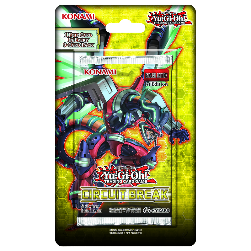 Yu-Gi-Oh Circuit Break Blister Pack