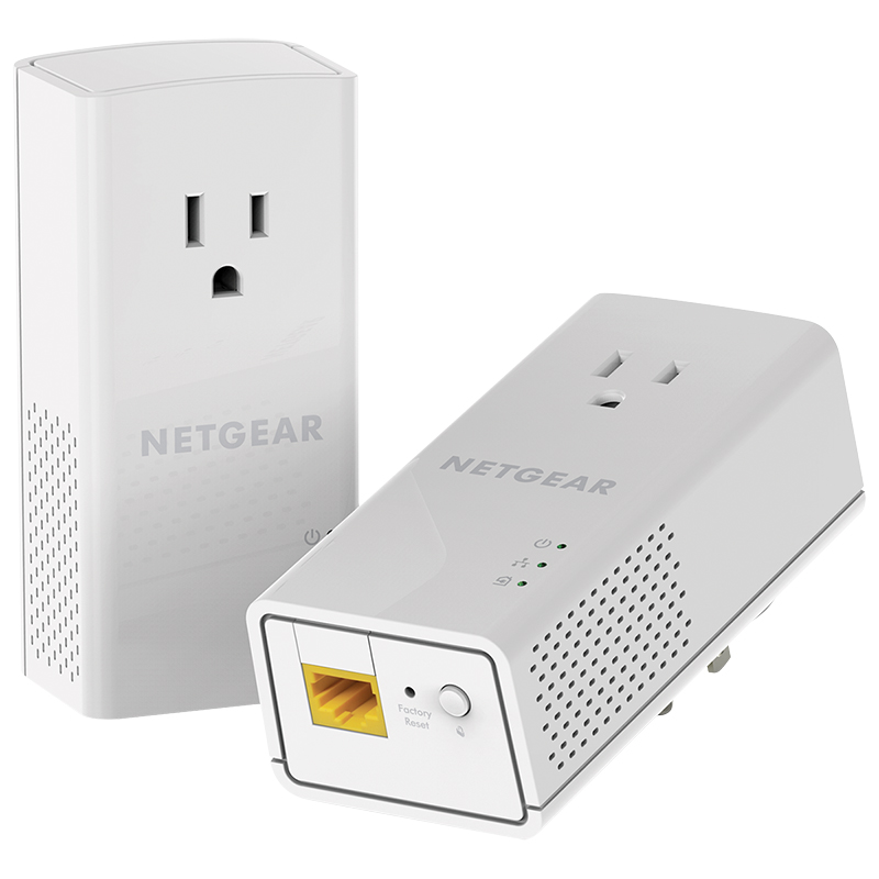 Netgear Powerline 1200 Mbps 1 Gigabit Port - PLP1200-100PAS
