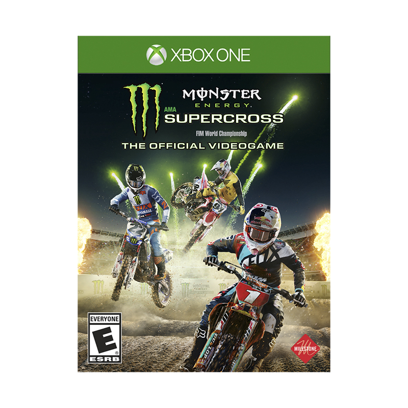Xbox One Monster Energy Supercross - The Official Videogame