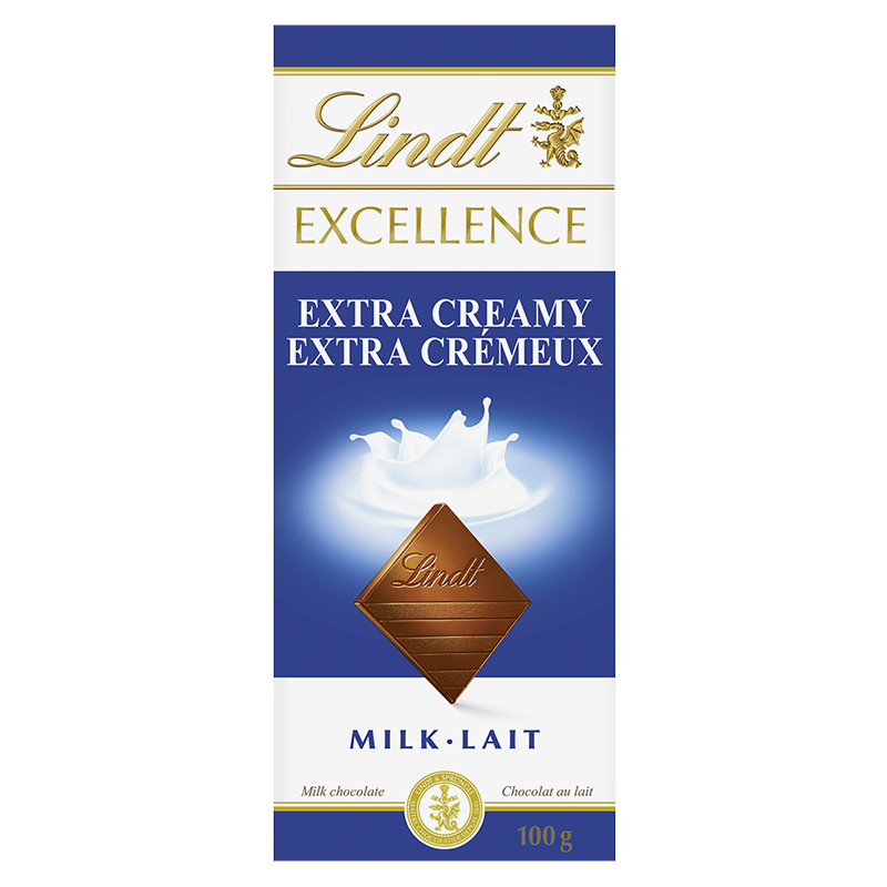 Lindt Excellence Bar - Extra Creamy - 100g