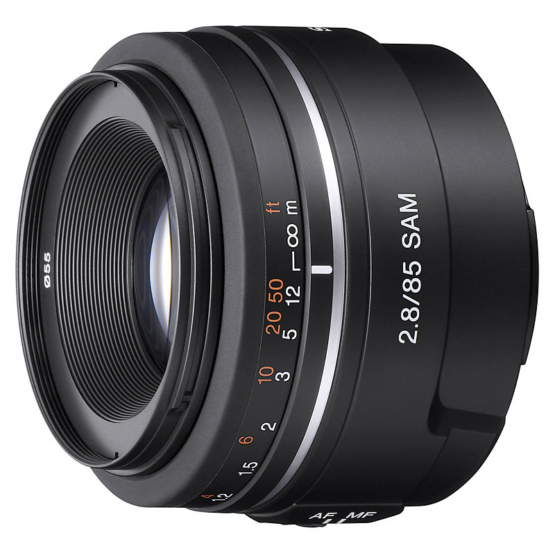 Sony 85mm F2.8 SAM Lens - SAL85F28 - Open Box Display Model