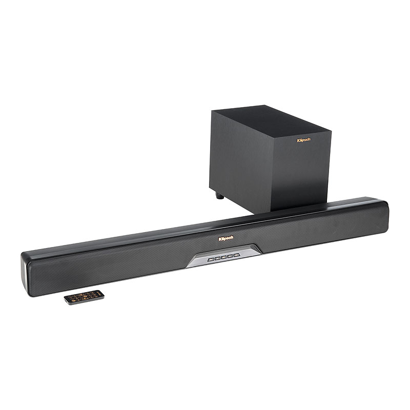 Klipsch RSB6 Soundbar with 6.5-in Wireless Sub - Black