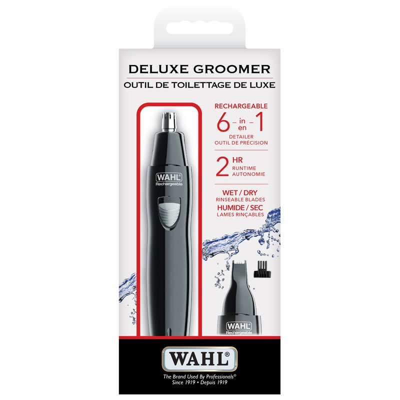 Wahl 6 in 1 Groomer - Black - 5556