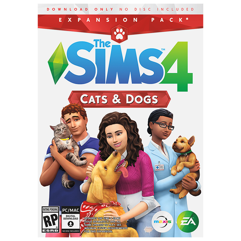 PC The Sims 4 - Cats and Dogs