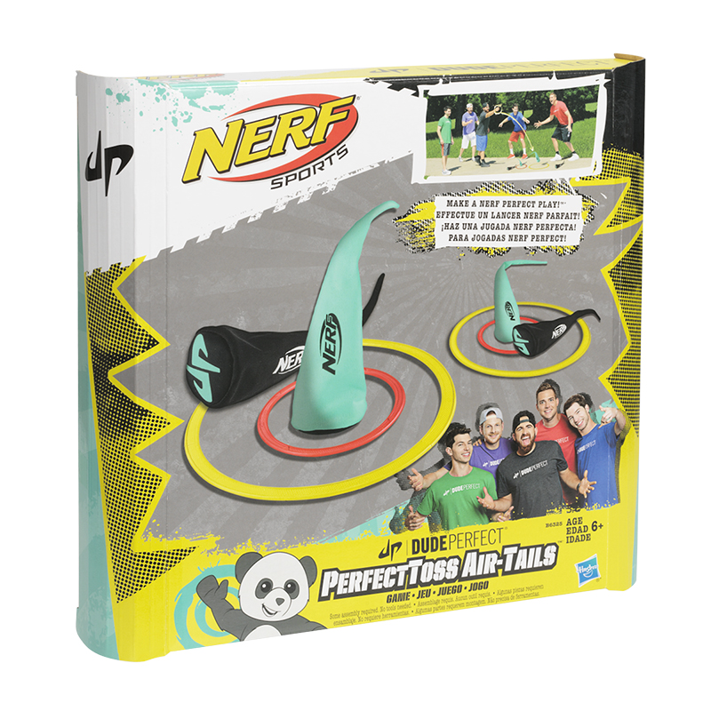 Nerf Sports Dude Perfect Toss Air Tails