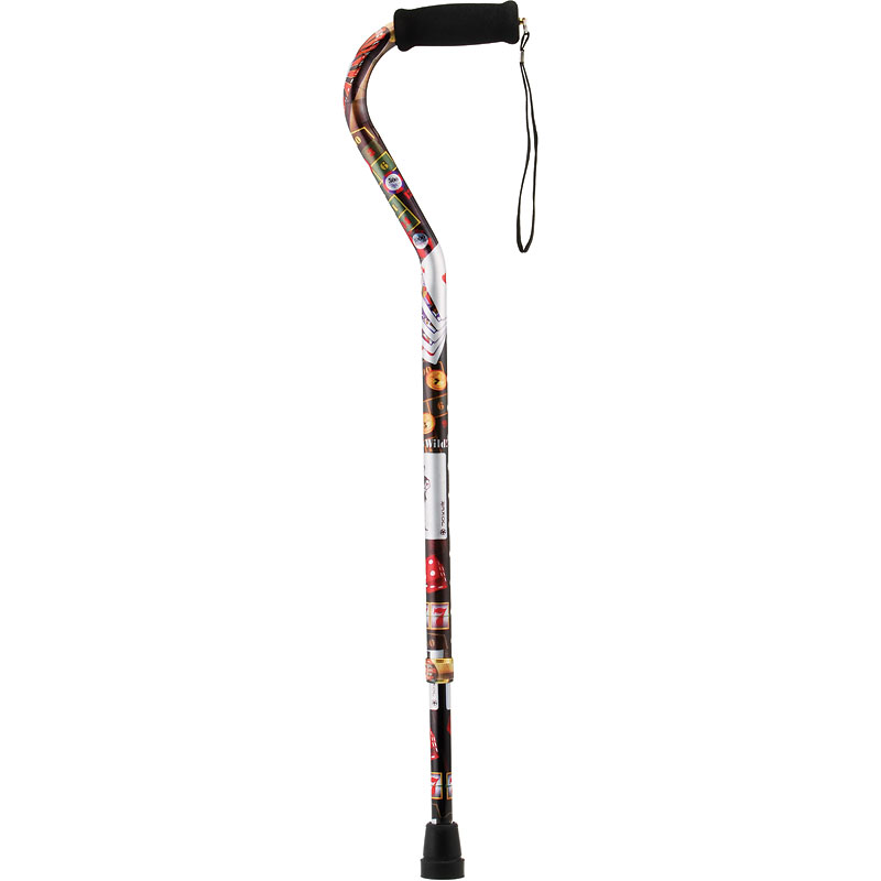 Nova Offset Cane with Strap