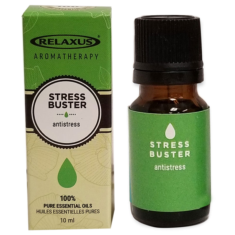 Relaxus Aromatherapy 100% Pure Essential Oil - Stress Buster - 04143