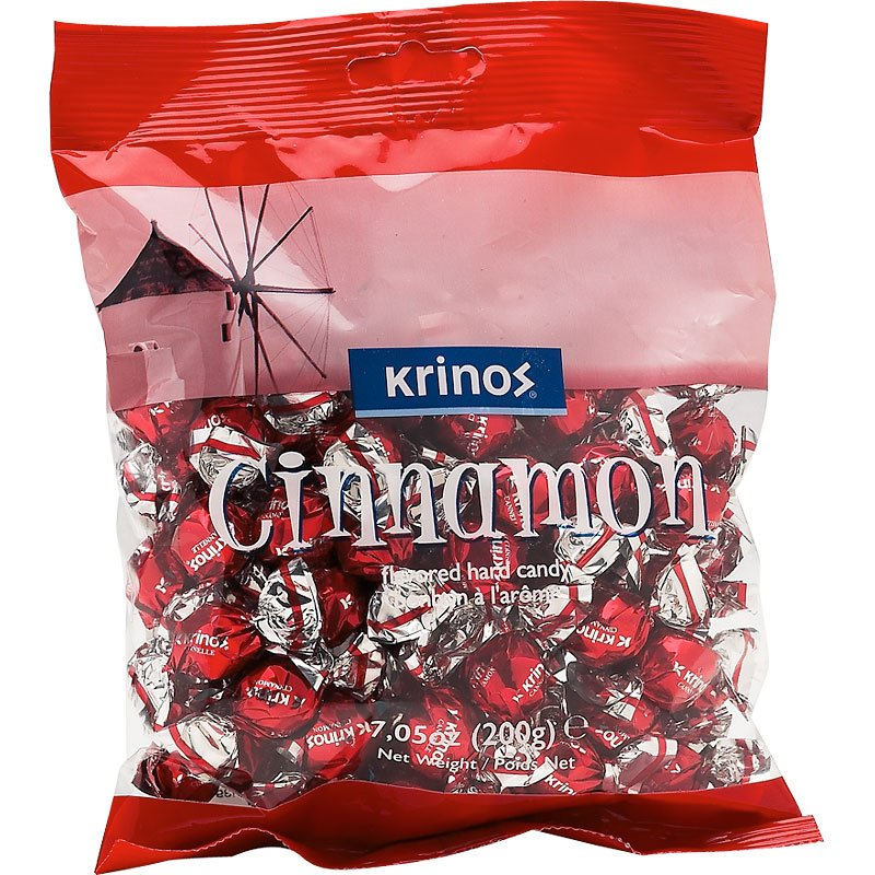 Krinos Cinnamon Hard Candies - 200g