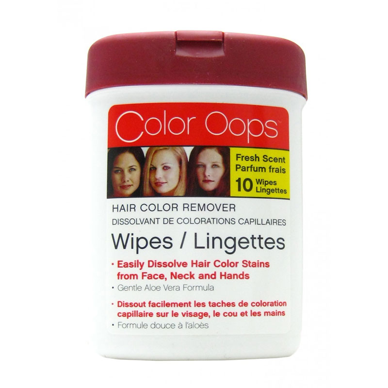 Color Oops Wipes - 10's