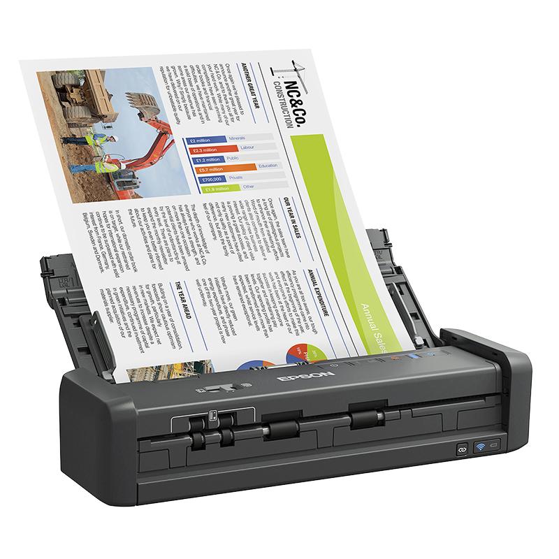 Epson Workforce ES-300W Wireless Duplex Document Scanner - B11B242201