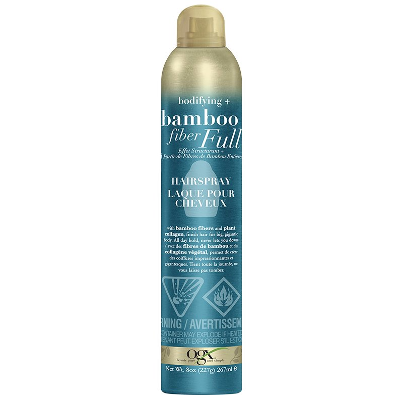 OGX Bamboo Fiber Full Hairspray - 267ml
