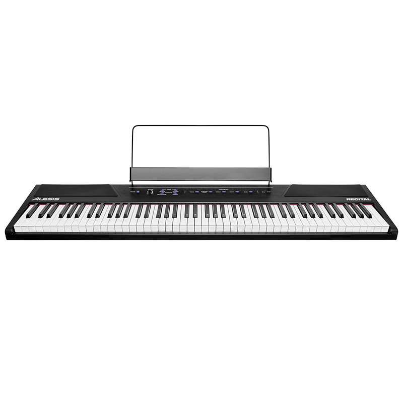 Alesis 88-Key Digital Piano - Black - LQSJ
