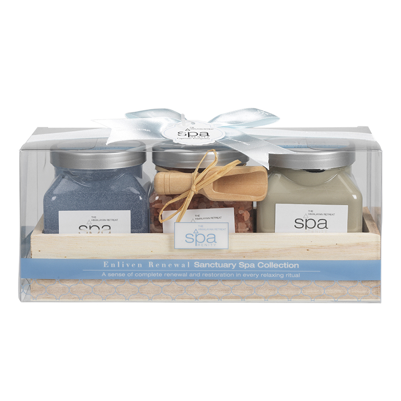 SpaRenity Sanctuary Spa Collection - Enliven Renewal - 3 piece