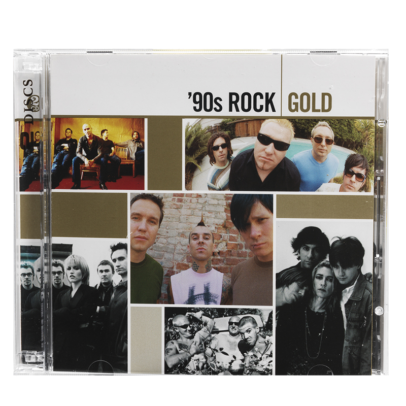 Various Artists - 90s Rock Gold - CD