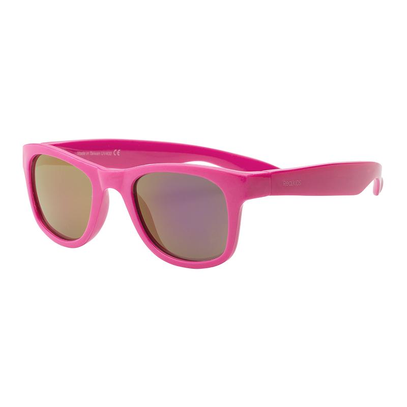 91fbb91d96ff UVeez Wayfarer Sunglasses - Size 2 - Neon Pink