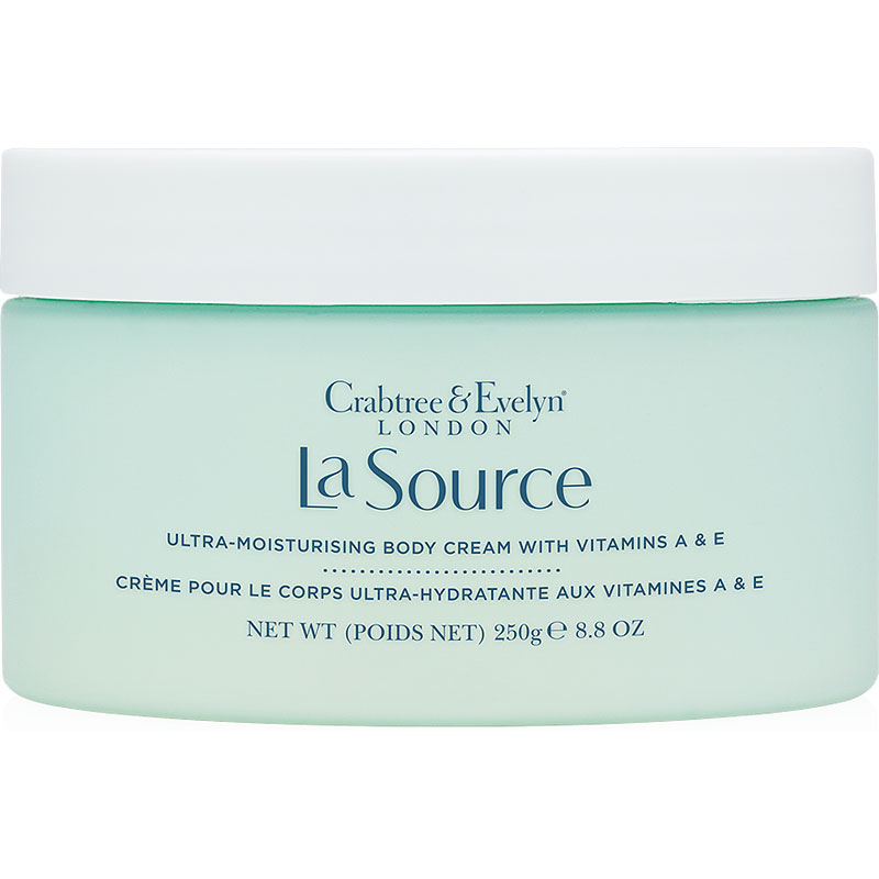 Crabtree & Evelyn La Source Ultra-Moisturising Body Cream with Vitamins A & E - 250g