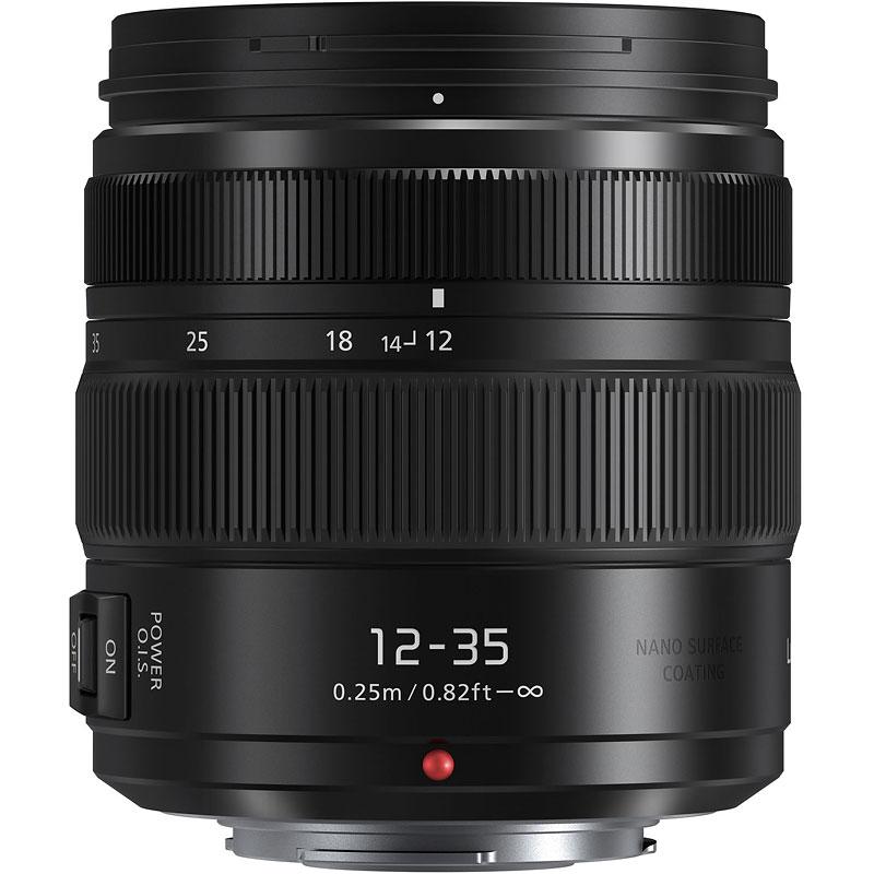 Panasonic Lumix G X Vario 12 35mm F2 8 Ii Asph Lens Black Hhsa12035 London Drugs
