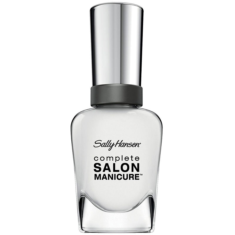 Sally Hansen Complete Salon Manicure Nail Polish White Here Now