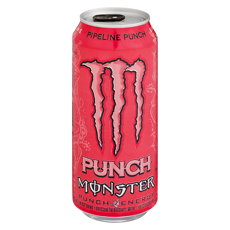 Monster Energy Drink - Pipeline Punch - 473ml