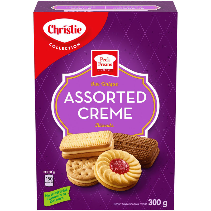 Peek Freans Biscuit - Assorted Crème - 300g