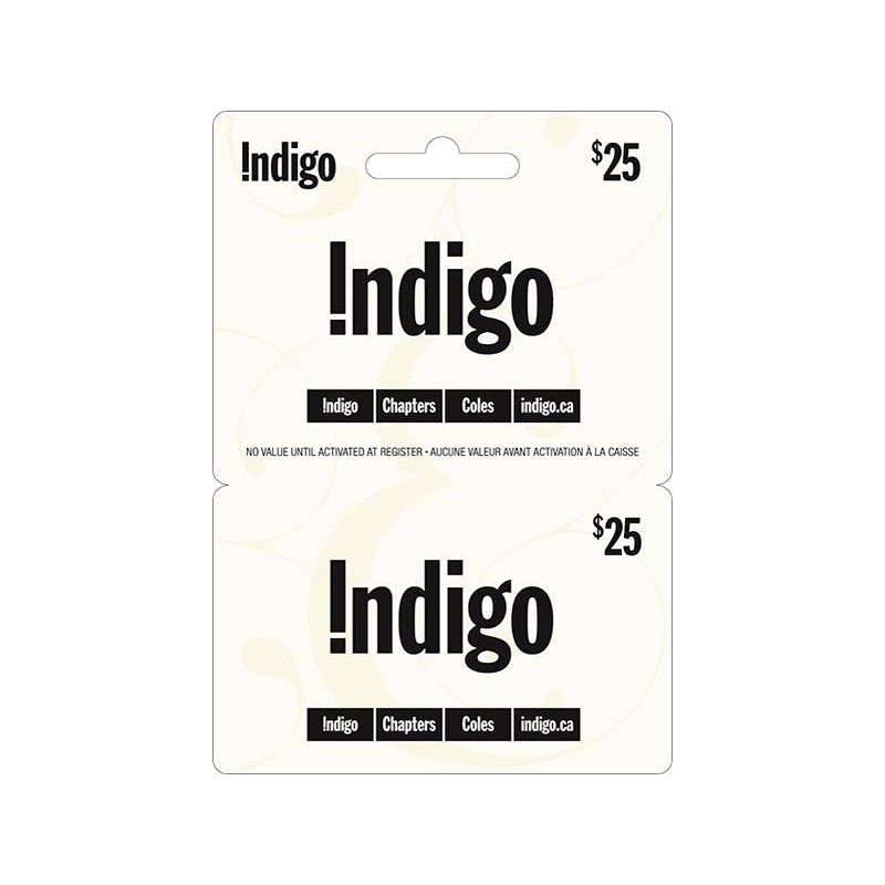 Indigo Chapters Gift Card - $25