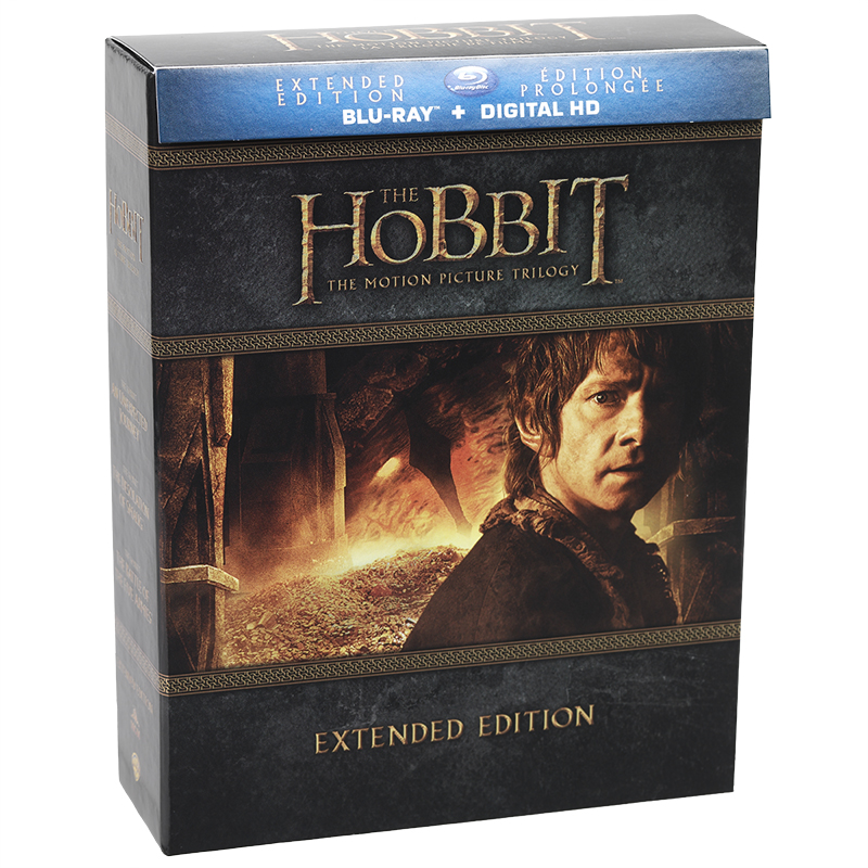 The Hobbit Trilogy (Extended Edition) - Blu-ray